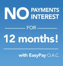 No Payments No Interest Option Available. Ask me for details.