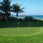 Community Golf Putting Green near ocean. Better than a pool, since you can use it all year round.
