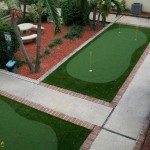 Condominium Community Practice FieldTurf Putting Greens. From tee lines, to practice facilities and driving ranges FieldTurf and Alternascapes offer a complete artificial golf grass surface and commercial practice putting greens and driving range solution.