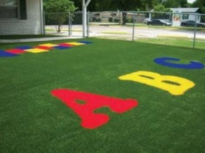 FieldTurf Designs and Logos for Schools and Playgrounds