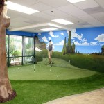 FieldTurf Indoor Practice Golf Putting Green. Our artificial grass is ideal inside or out and provides the most realistic play.