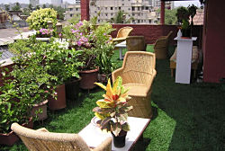Balconies & Terraces appear beautiful and are comfortable with our fake grass