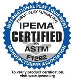 EASYTURF playground grass is IPEMA Certified