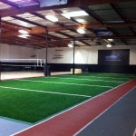 Indoor Sports Facility with FieldTurf artificial grass. FieldTurf is the turf the pro's use.
