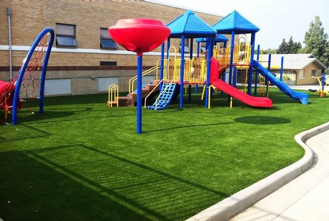 Image result for artificial grass for school