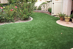 Siesta Key Residential Lawns using EasyTurf fake grass