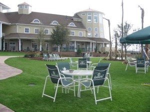 Savannah Clubhouse – Event Lawn with FieldTurf artificial grass