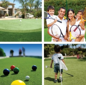Sports on FieldTurf Grass Golf Soccer Baseball Tennis Bocce Croquet and More