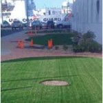 Coast Guard Facility using EasyTurf Synthetic Grass