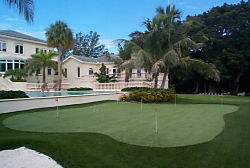 Florida Residential and Commercial Artificial Grass and Synthetic Turf Golf Putting Greens