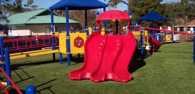 Kids Artificial Turf Safety Surface Florida Playground
