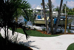 Florida EasyTurf by FieldTurf Artificial Grass for Residential Home. Enjoy your yard again with our almost maintenance free synthetic lawn.