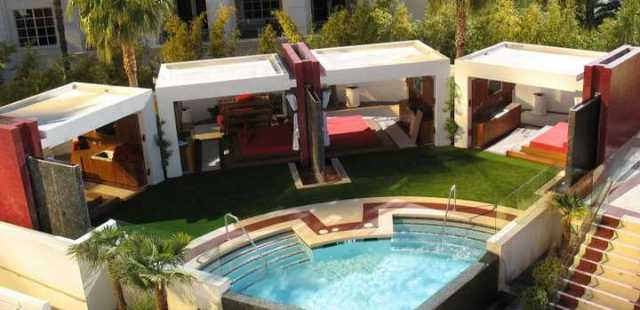 Resort, Hotel, Motel, or Multi Dwelling Unit, Artificial Grass is beautiful long term high use Pool Deck option.