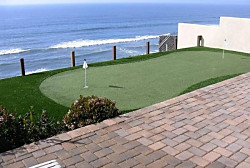 Bird Key, FL Residential Artificial Grass and Synthetic Turf Golf Putting Greens